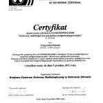 Kurs ochrony radiologicznej 2006